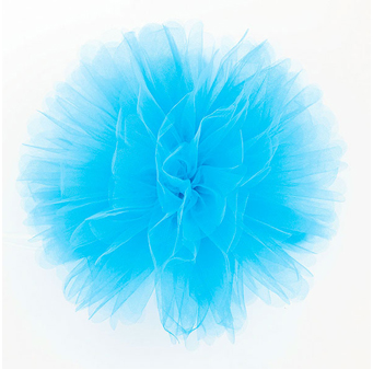 Fluffy in tulle TURCHESE