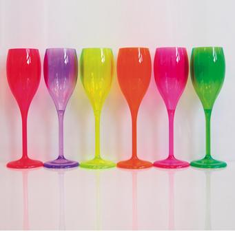 Flutes luxury fluo colori assortiti for Colori fluo